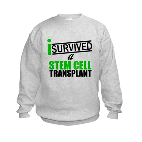 StemCellTransplant Survivor Kids Sweatshirt