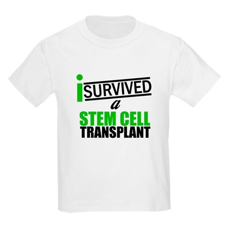 StemCellTransplant Survivor Kids Light T-Shirt