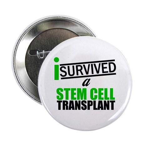 "StemCellTransplant Survivor 2.25"" Button (10 pack)"