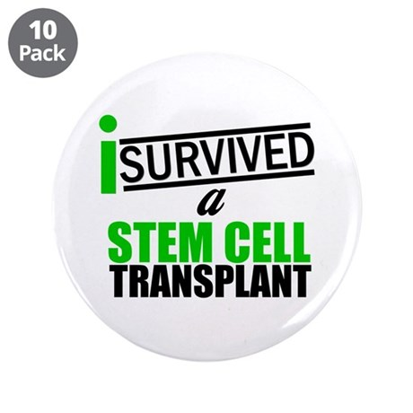 "StemCellTransplant Survivor 3.5"" Button (10 pack)"