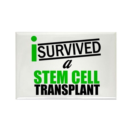 StemCellTransplant Survivor Rectangle Magnet