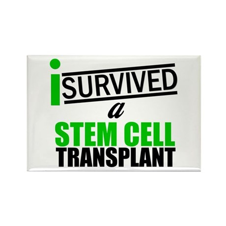 StemCellTransplant Survivor Rectangle Magnet (10 p