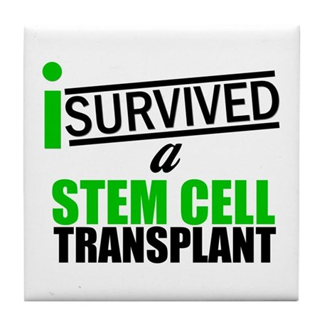 StemCellTransplant Survivor Tile Coaster