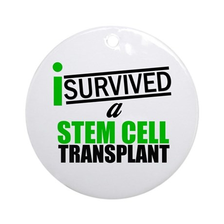 StemCellTransplant Survivor Ornament (Round)