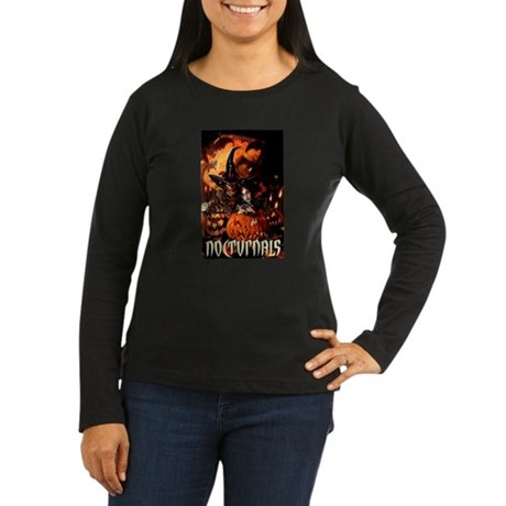 Nocturnals Women's Long Sleeve Dark T-Shirt