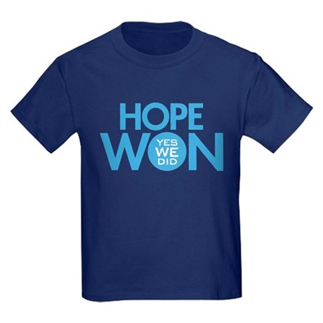 Hope Won Kids Dark T-Shirt