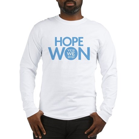Hope Won Long Sleeve T-Shirt