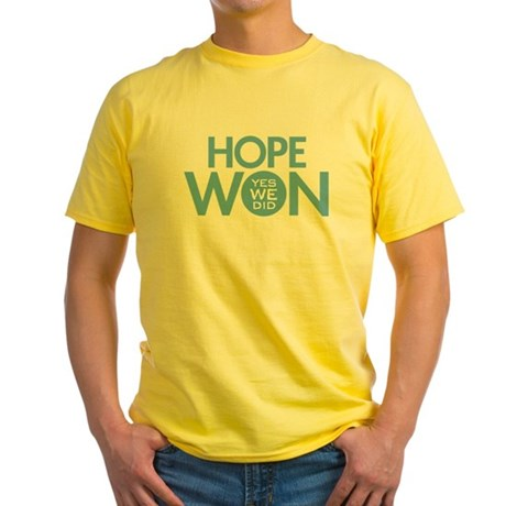 Hope Won Yellow T-Shirt
