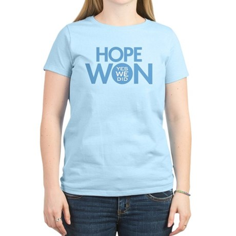 Hope Won Women's Light T-Shirt