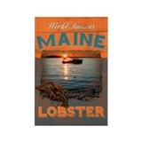 Maine Lobster Rectangle Magnet
