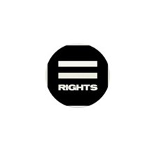 EQUAL RIGHTS - Mini Button (100 pack)
