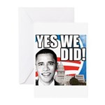 Obama Biden 2008 Greeting Cards (Pk of 20)