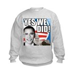 Obama Biden 2008 Kids Sweatshirt