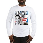 Obama Biden 2008 Long Sleeve T-Shirt