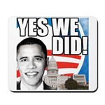 Obama Biden 2008 Mousepad