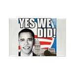 Obama Biden 2008 Rectangle Magnet (100 pack)