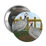 "Lavender Guinea Fowl 2.25"" Button (10 pack)"
