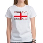 England English St. George Flag Women's T-Shirt