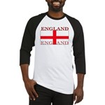 England English St. George Flag Baseball Jersey