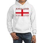 England English St. George Flag Hooded Sweatshirt