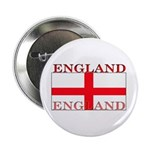 England English St. George Flag Button