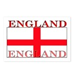 England English St. George Flag Postcards (Package