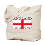 England English St. George Flag Tote Bag