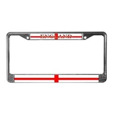 England English St George Flag License Plate Frame