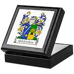 Khlebnikov Family Crest Keepsake Box