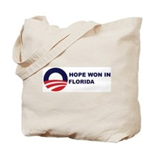 Hope Won in FLORIDA Tote Bag