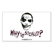 Why so socialist? Rectangle Decal