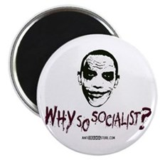 "Why so socialist? 2.25"" Magnet (10 pack)"