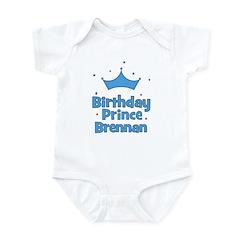 Birthday Prince Brennan! Infant Bodysuit