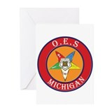 Michigan OES Greeting Cards (Pk of 20)