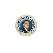 President Obama inauguration Mini Button (10 pack)