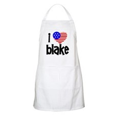I Love James Blake BBQ Apron