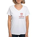 Twilight Mom Women's V-Neck T-Shirt