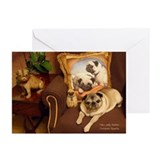 Sally in Brown Thanksgiving Cards (Pk of 10)