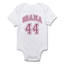 Obama 44th President pnk Infant Bodysuit