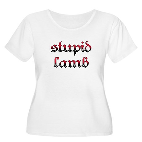 Stupid Lamb Twilight Women's Plus Size Scoop Neck