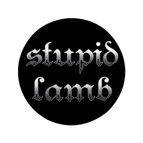 Stupid Lamb Twilight 3.5&quot; Button