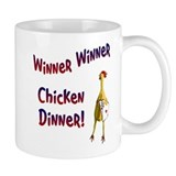 Winner Winner Chicken Dinner Small Mug