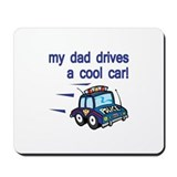 Police Officer's Kids Mousepad