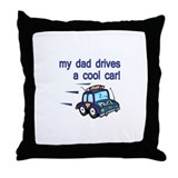 Police Officer's Kids Throw Pillow