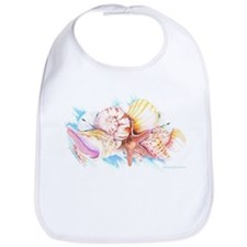 Snap Bib (seashells)