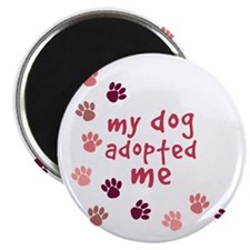 My Dog Adopted Me Magnet