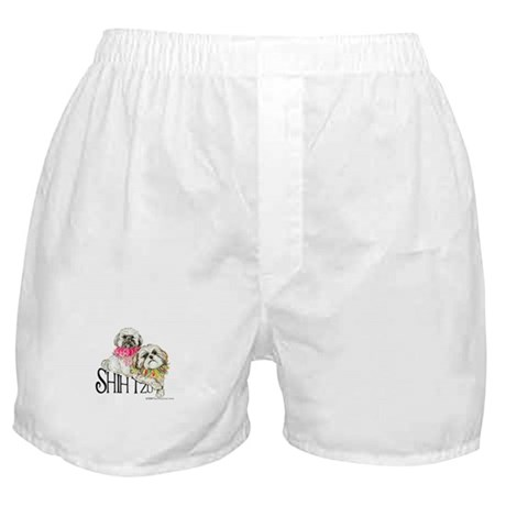 Two Shih Tzu! Boxer Shorts