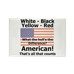 Proud American Rectangle Magnet (100 pack)