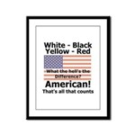 Proud American Framed Panel Print