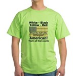 Proud American Green T-Shirt